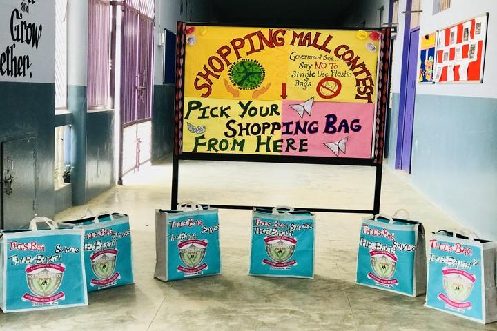 Parvez Khan Sajida Public School - Shopping mall contest