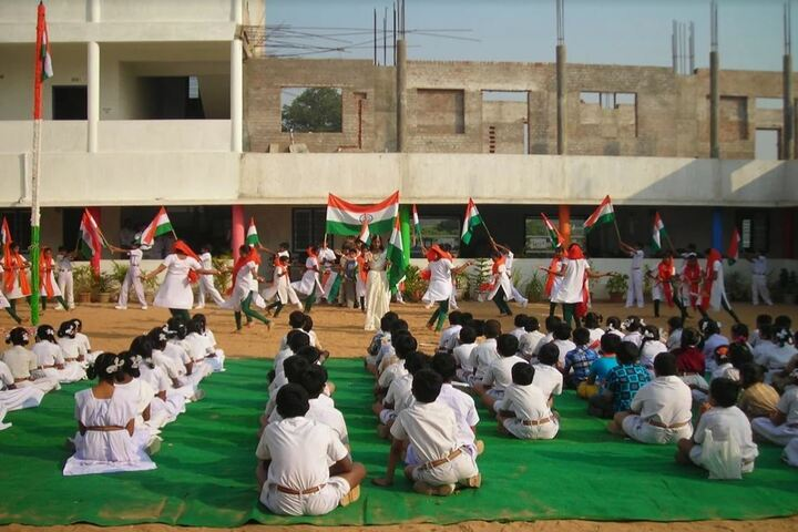 Ford City School-Republic Day