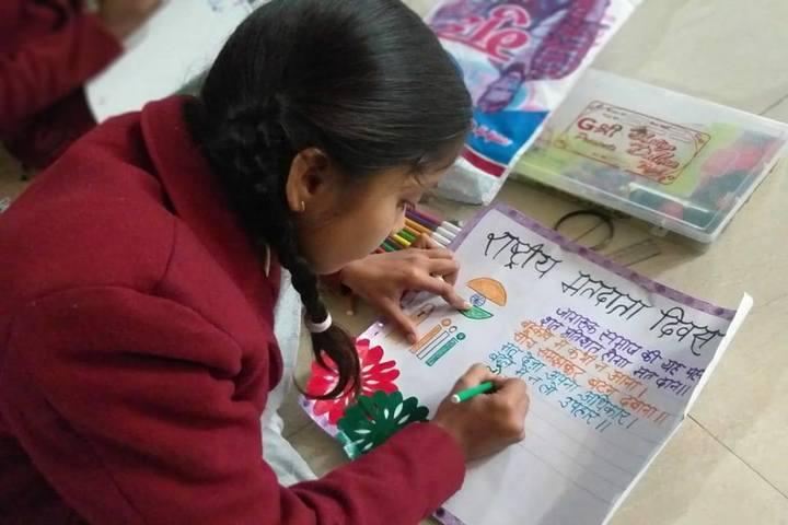 Paul International School-Art Competition