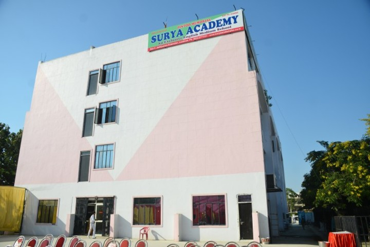 Pintoo Memorial Surya Academy-School Building