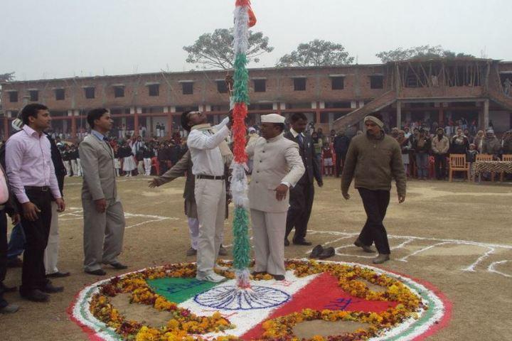 Vidyapati Public School-Flag Host