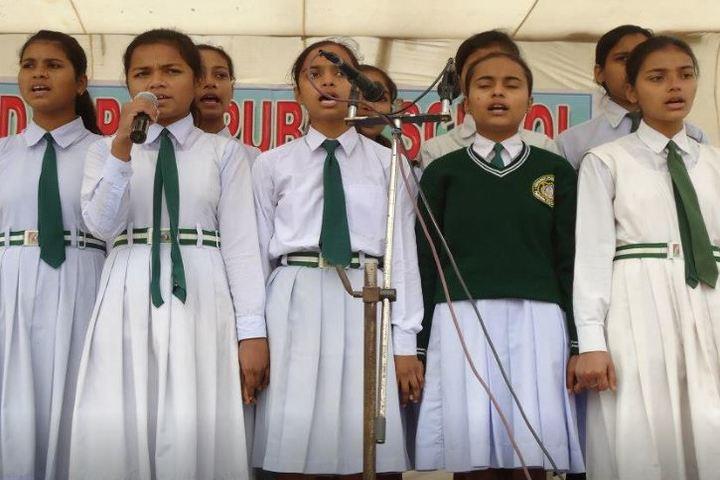 Vidyapati Public School-Singing