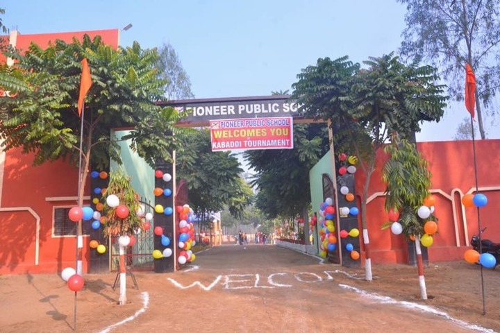 Pioneer Public School-Entrance