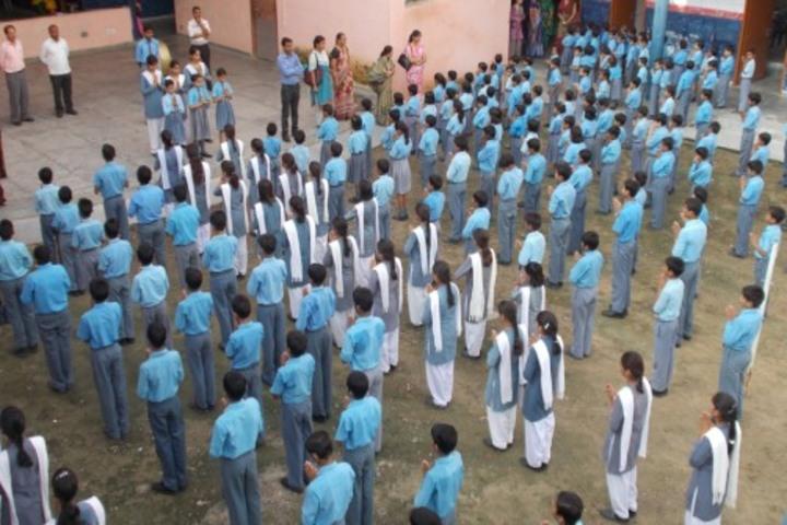 Police Modern School-Morning Assembly