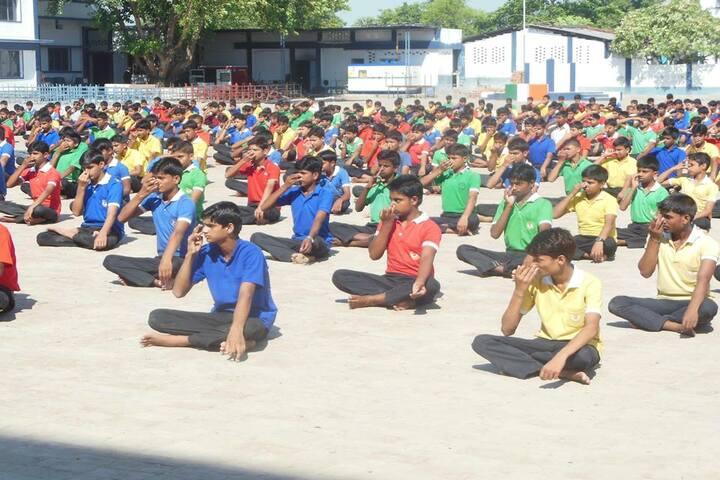 Vigyananand Kendriya Vidyalaya-Yoga Day