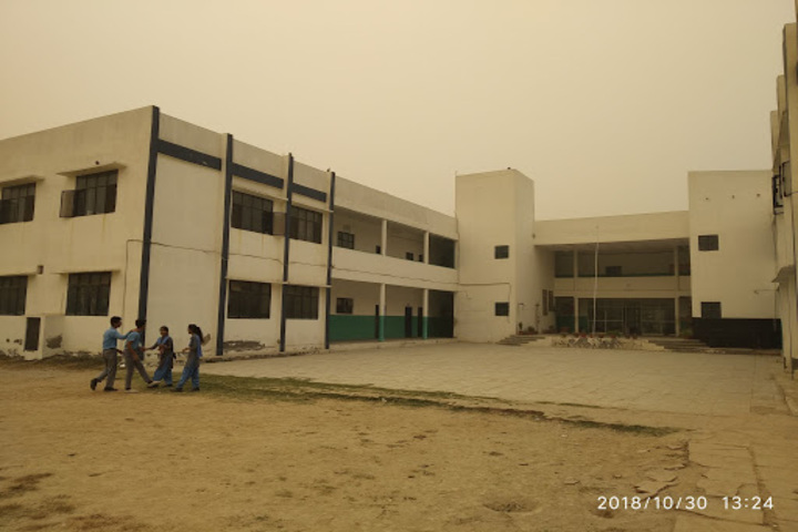 Police Modern School-School Building