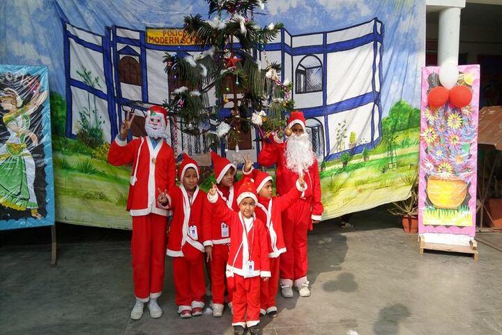 Police Modern School-Christmas Celebrations