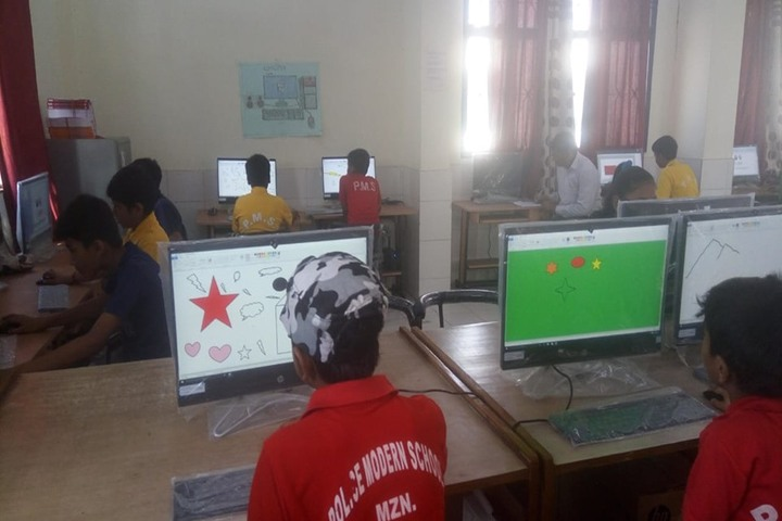 Police Modern School-Computer Lab