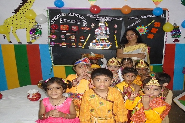 Prabhat Public School-Krishnastami Celebrations