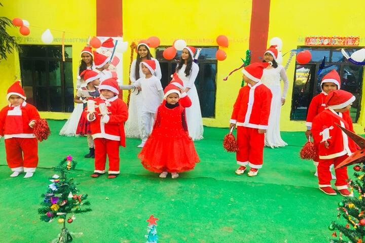Pradhan Public Senior Secondary School-Christmas Celebrations