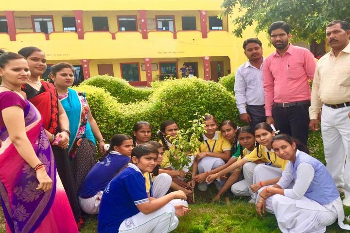 Pradhan Public Senior Secondary School-Tree Plantation