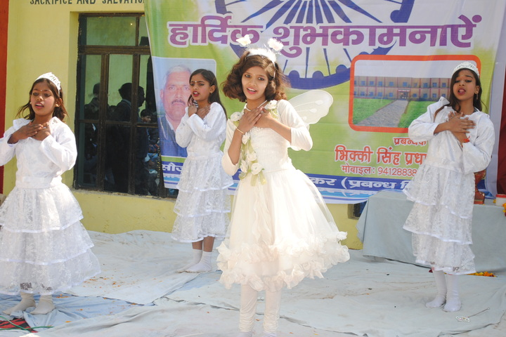 Pradhan Public Senior Secondary School-White Day Celebrations