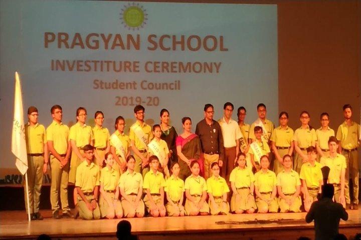 Pragyan School-Investiture Ceremony