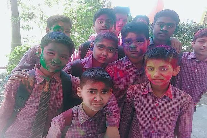 Pt Babu Ram Pandey Academy-Holi Celebration