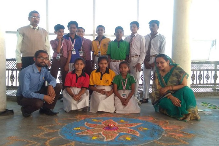 Pt Babu Ram Pandey Academy-Rangoli Competition