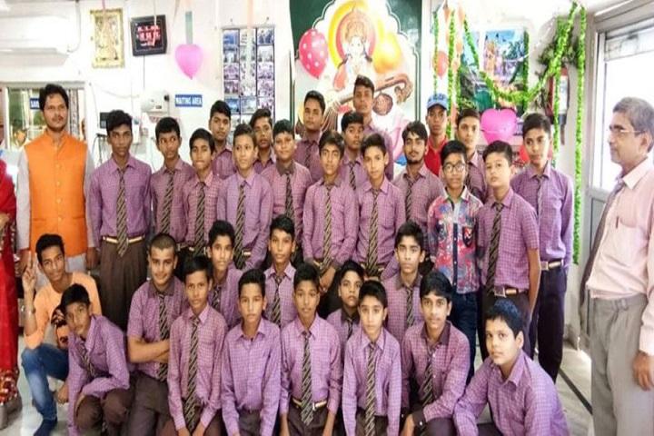 Pt Babu Ram Pandey Academy-Students Group Photo