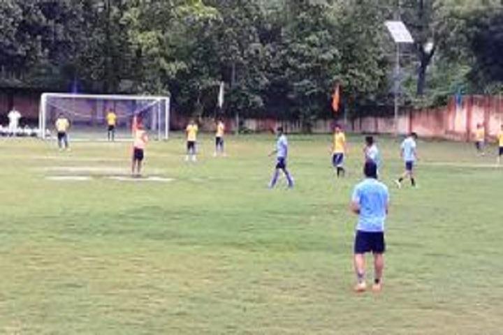 Pt Deen Dayal Upadhyaya Sanatan Dharma Vidyalaya-Football Court
