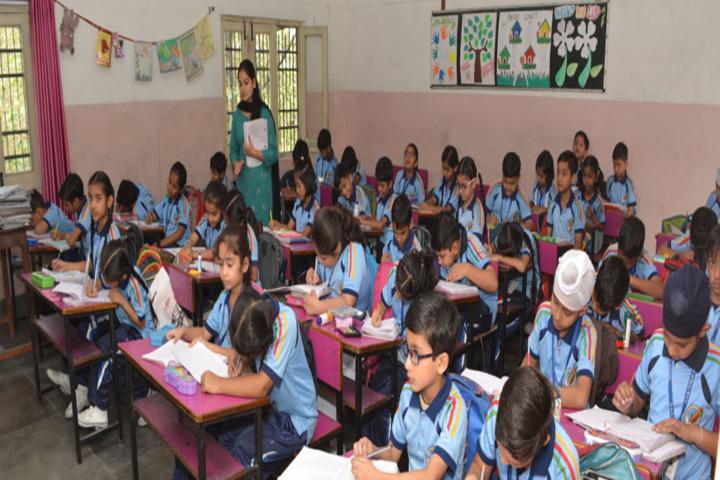 R A N Public School-Classroom