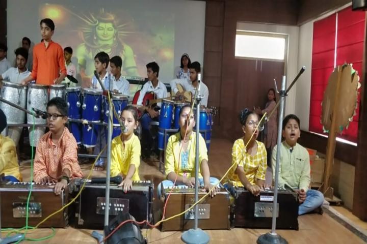 R A N Public School-Music Competition