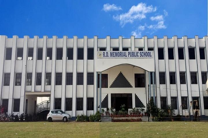 R D Memorial Public School-School Building