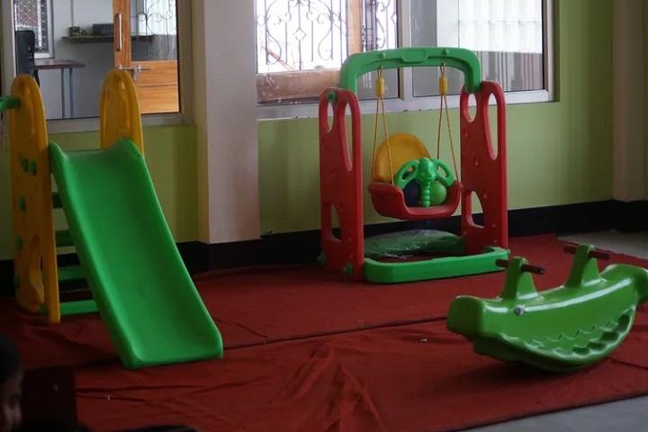 R D Memorial Public School-Play area