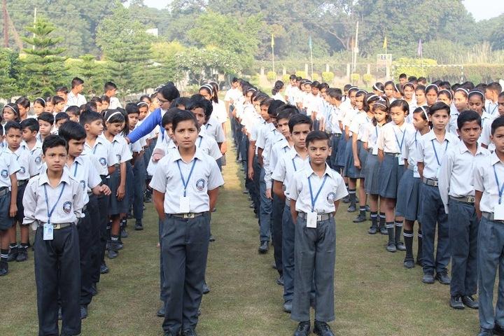 R K International School-Assembly