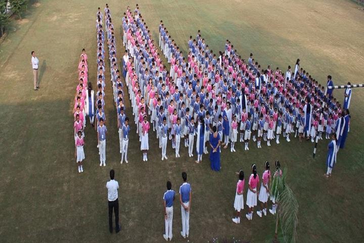 R K International School-Sports Day