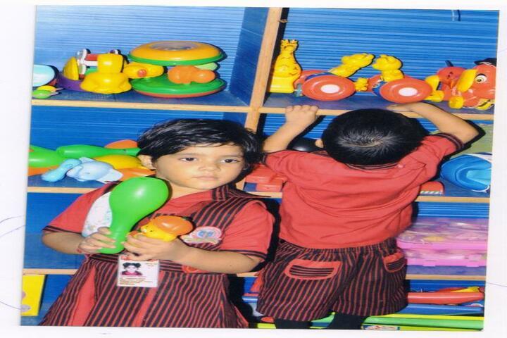 R K Public School-activity room