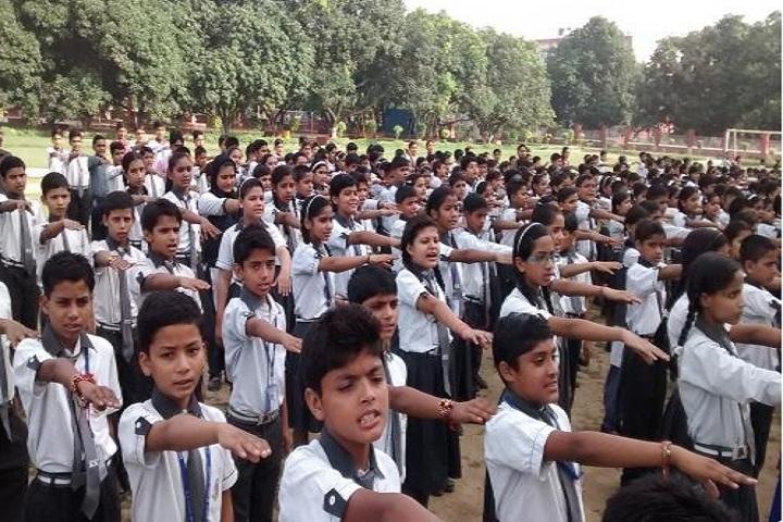 R K Public School-assembly