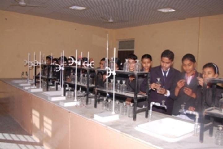 R K Public School-chemistry lab