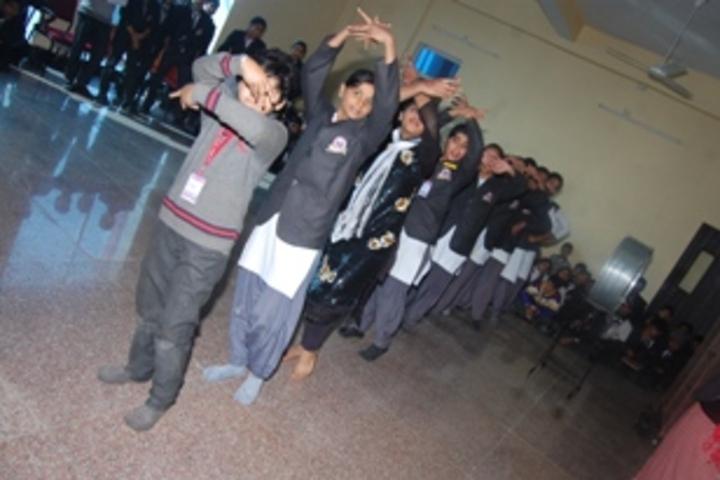 R K Public School-dance room