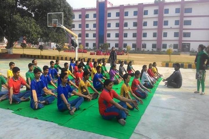 R K Public School-yoga