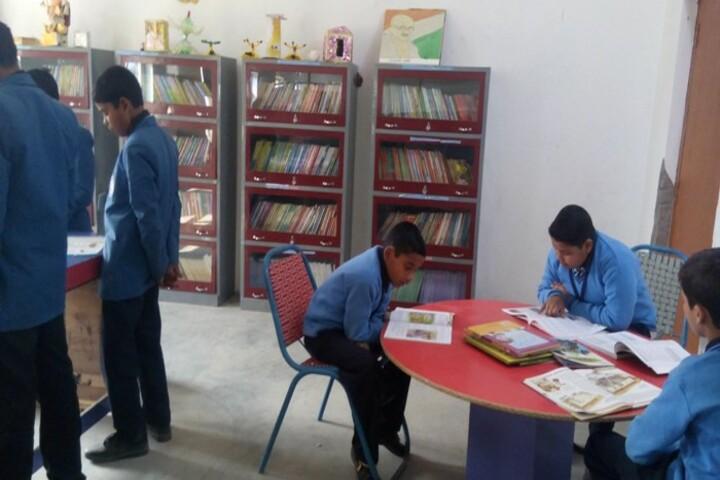 R L S Convent School-Reading Room