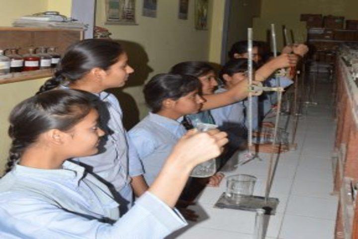 R P M Public School-Chemistry lab