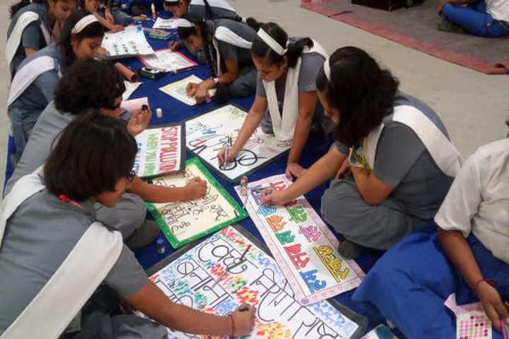 R R Morarka Pub School-activity
