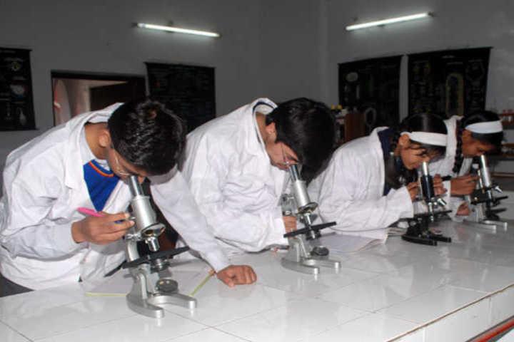 R R Morarka Pub School-biology lab