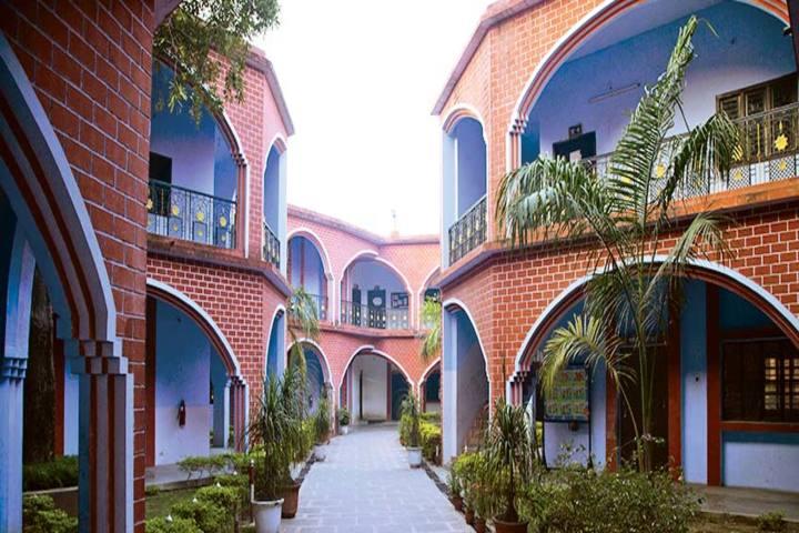 R R Morarka Pub School-building