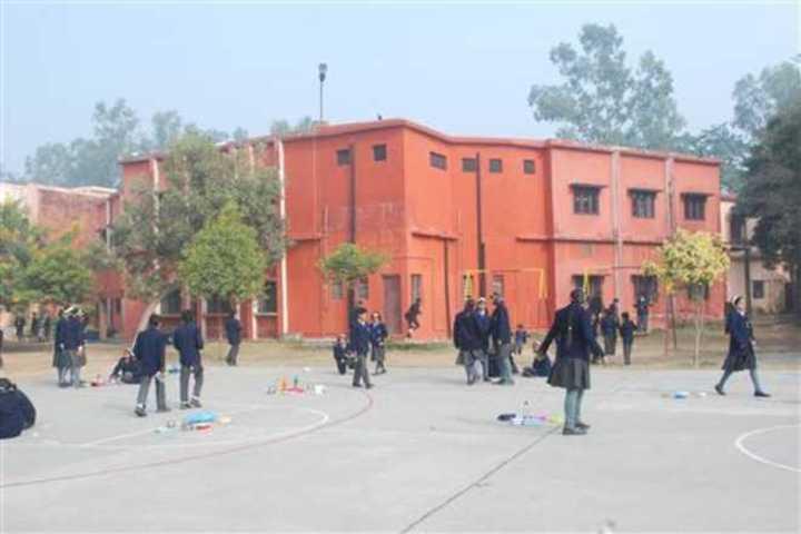 R R Morarka Pub School-play area