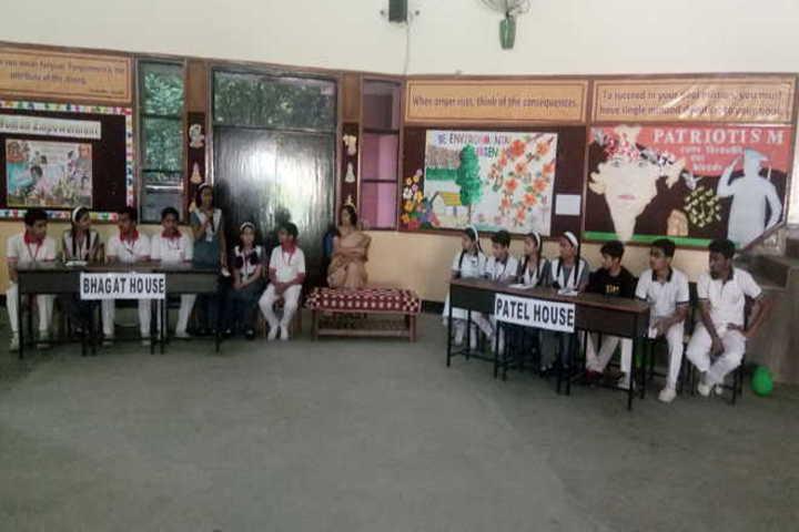 R R Morarka Pub School-quiz competition