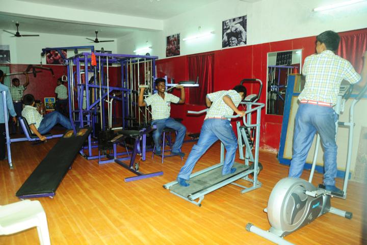 Gayatri School-Gymnasium