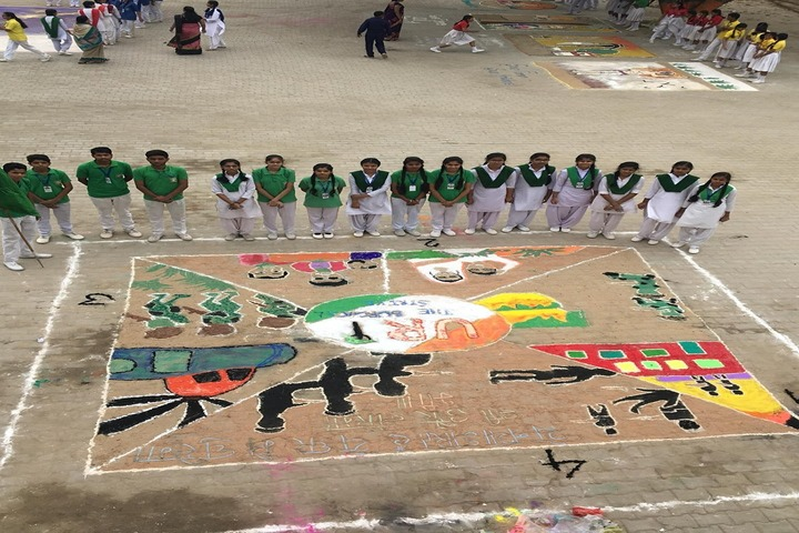 R K Mission School-Art