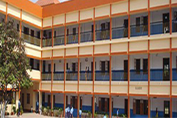 R K Mission School-Campus View