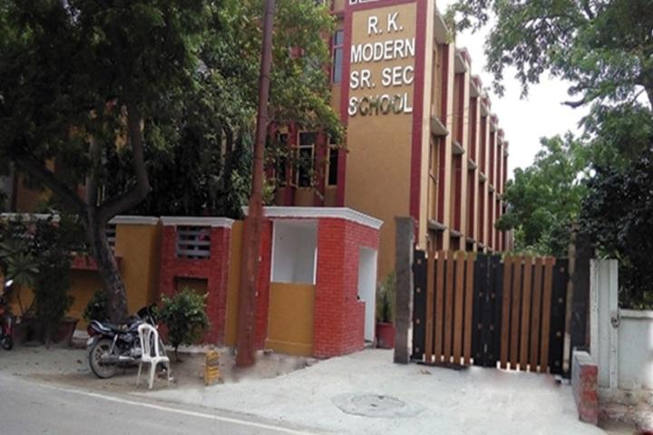 RK Modern School-Building