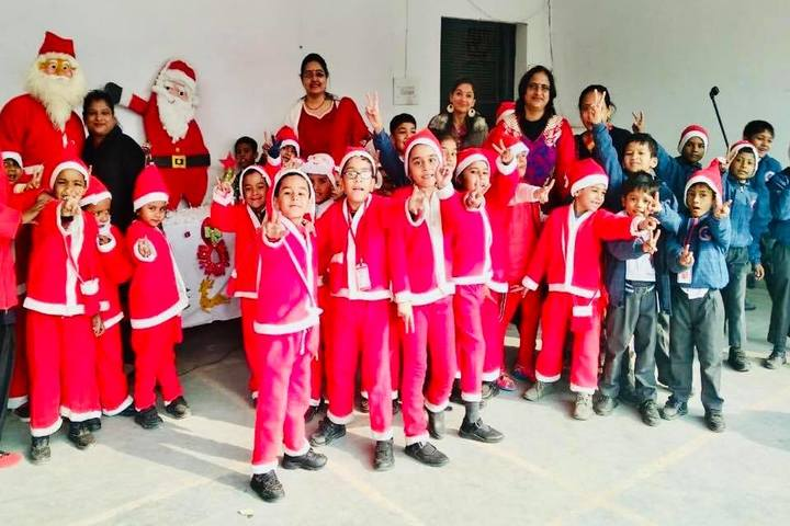 RK Modern School-christmas celebrations