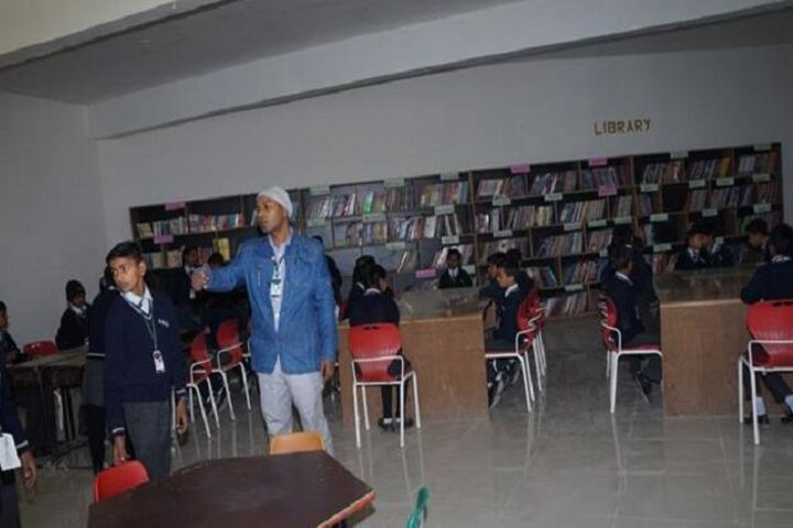 R S Global School-Library1
