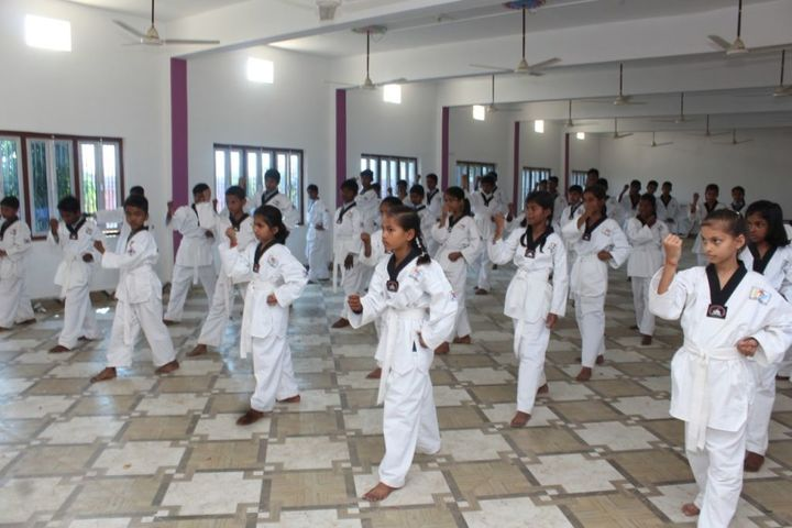 R A V Public School-Karate Classes