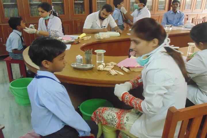 R N International Public School-Health Checkup
