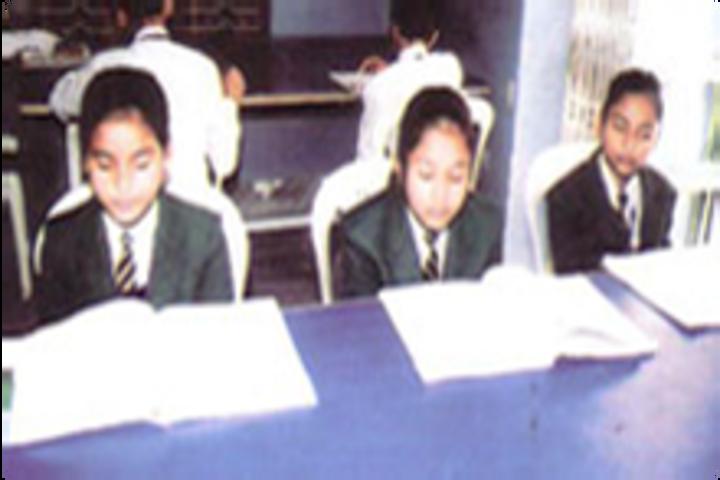 R N Tagore Senior Secondary School-Library