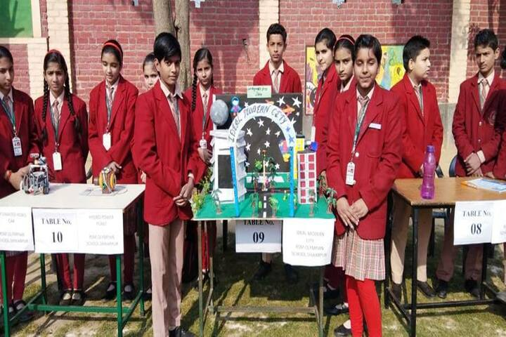 R S Memorial Olympian Public School-Exhibition