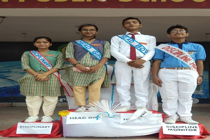 R S Memorial Olympian Public School-Investiture Ceremony